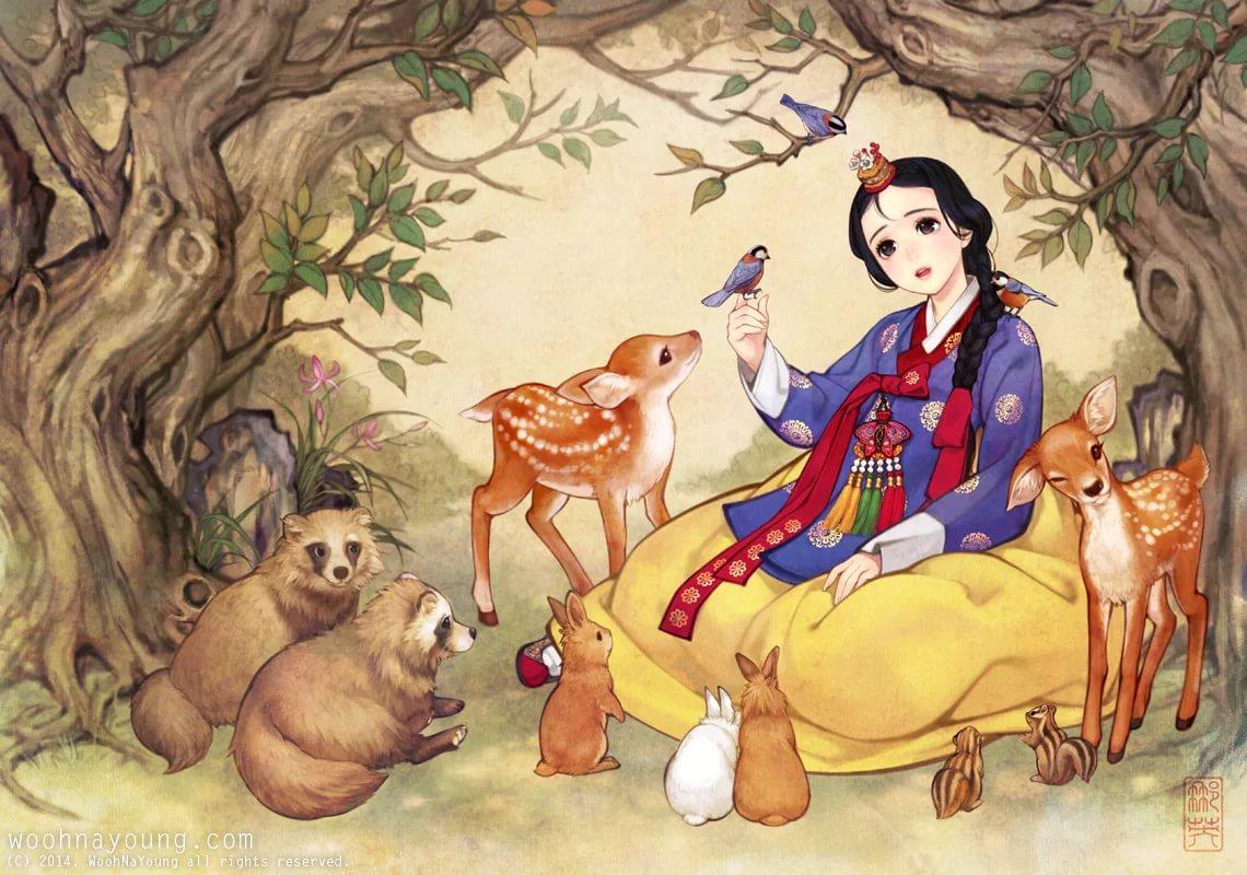 Master Class of Korean Oriental Paintings : Film of Santhi Jayasekera